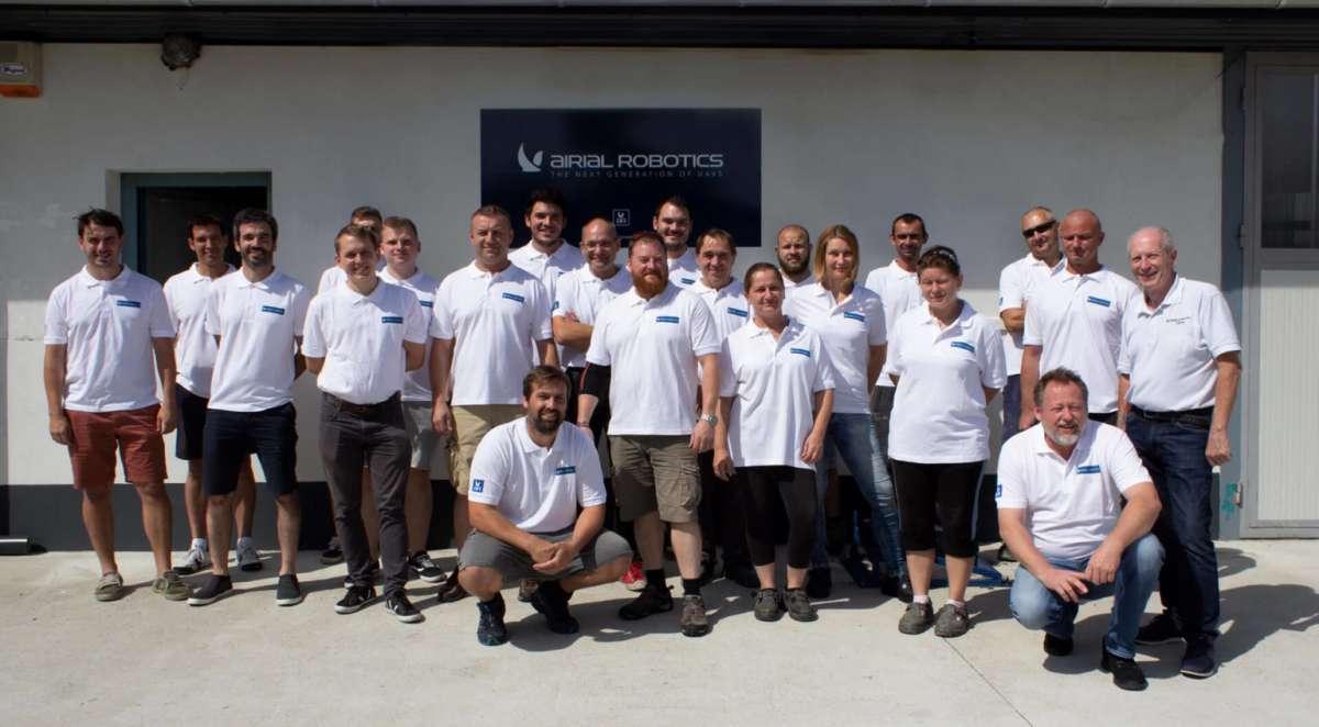 Airial Robotics Team - Sponsor of EUROPEAN DRONE FORUM 2021