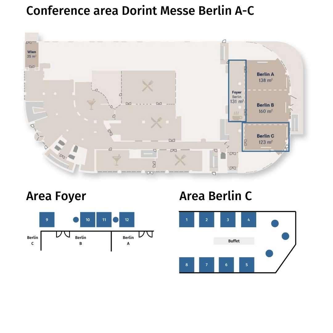 Exhibition area EUROPEAN DRONE FORUM